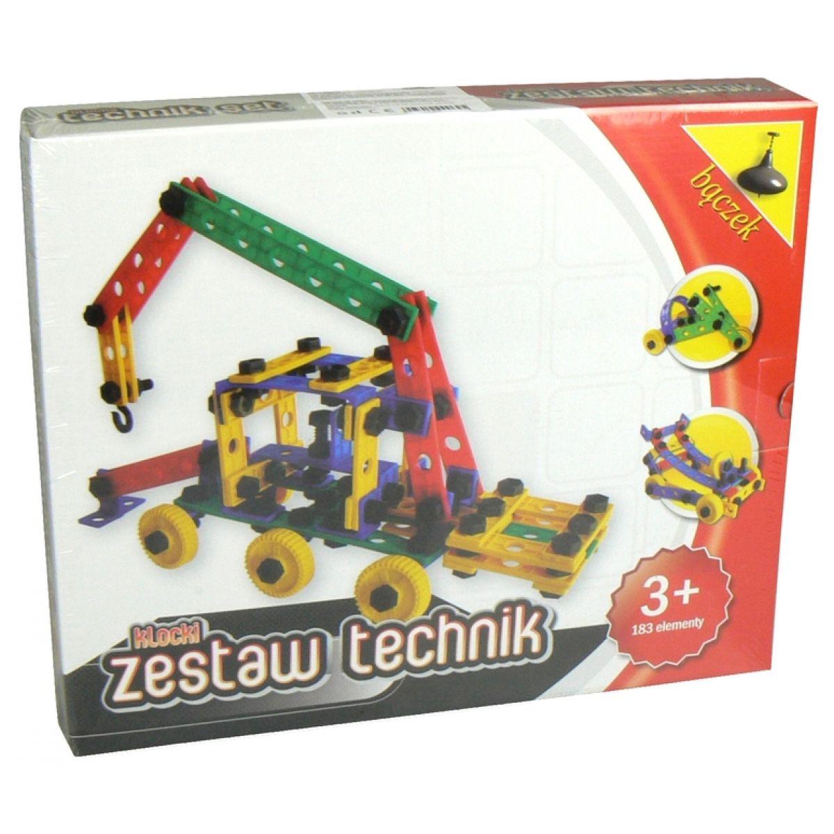 Stavebnice Variant Malý technik 183ks