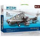 Stavebnice WZ-10 Gunship bitevní vrtulník 296 dílků (Dr.Luck JX002) 2
