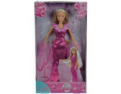 Steffi Love Girls Panenka I Love Pink - Tmavě růžová s volánky