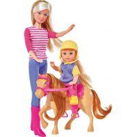Steffi Love Panenka a Evi Horse Training