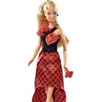 Steffi Panenka Minnie Mouse Evening Dress červené šaty