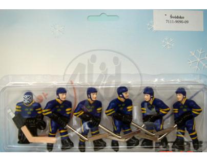 STIGA 7111-9090-09 Švédsko (malovaný tým) - náhradní výměnný tým