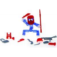 Stikbot action pack figurka s doplňky modrý s helmou
