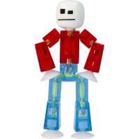 Stikbot Animák 1 figurka červenomodrý