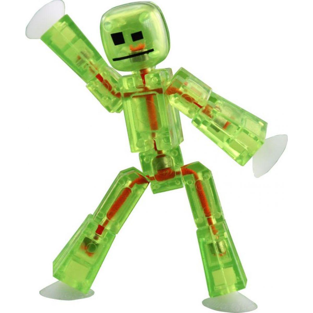 EP Line Stikbot Animák figurka - Sv. zelená transparentní