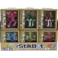 EP Line Stikbot Animák figurka - Sv. zelená transparentní 4
