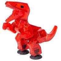 StikBot dino Velociraptor červený