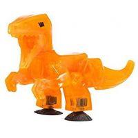 StikBot dino Velociraptor oranžový