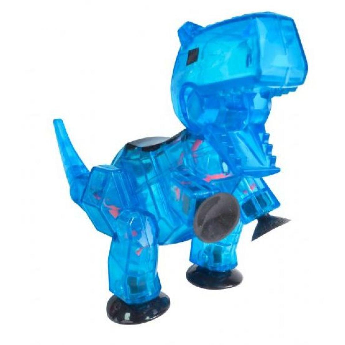 StikBot Mega dino Carnotaurus modrý