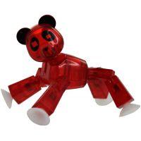 Stikbot Zvířátko Stikpanda červená
