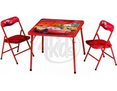 John Cars Campingový set dětského nábytku