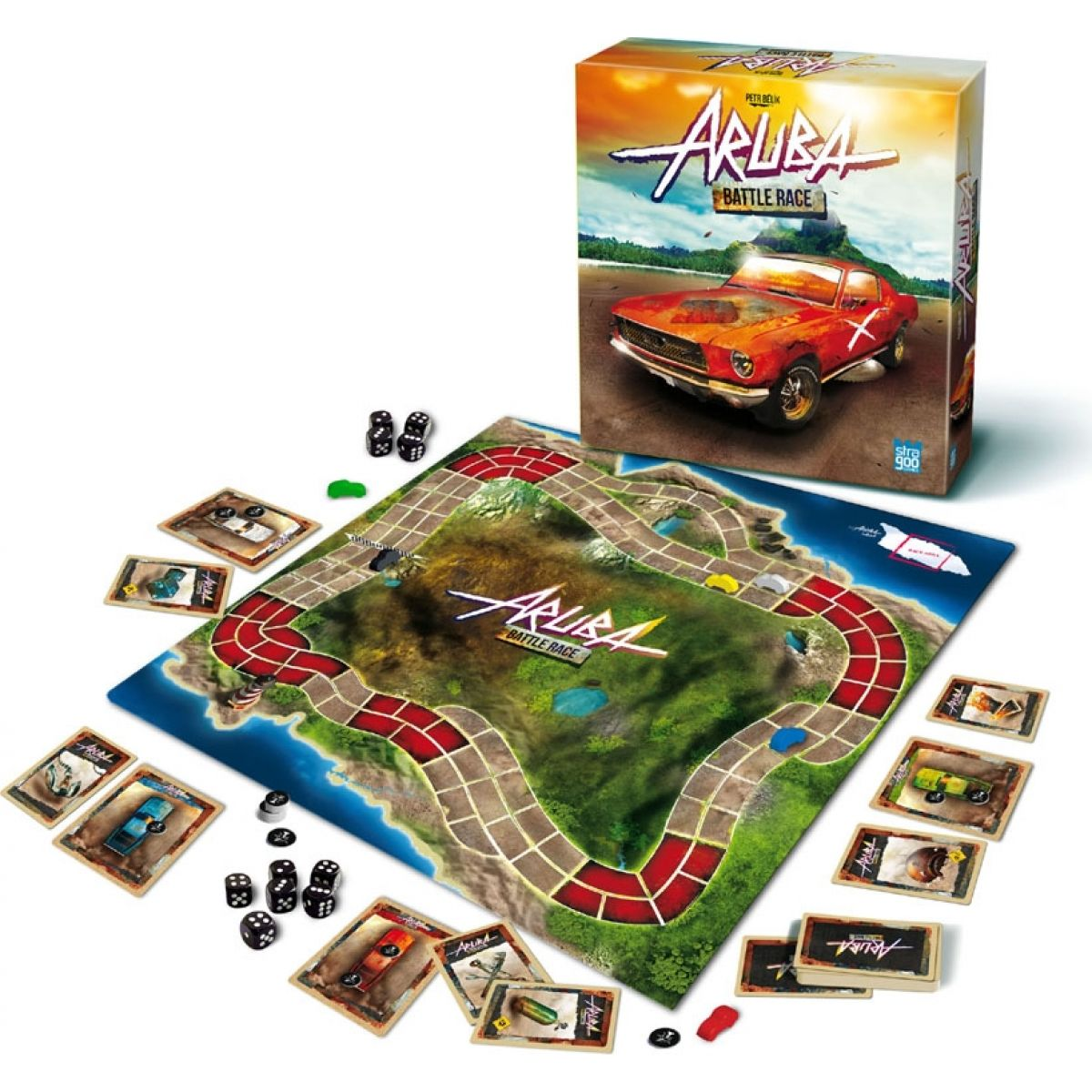 Společenská hra ARUBA (BONAPARTE 09837)