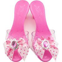Střevíčky pro princeznu plastové 18 cm růžové