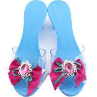 Střevíčky pro princeznu plastové 18 cm modrá