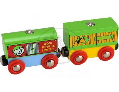 HM Studio Studo Train Vagon 2ks