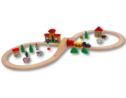HM Studio Studo Train Vláčkodráha 40 dílů
