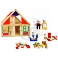 HM Studio Studo Wood Domeček na hraní s figurkami