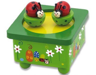 HM Studio Studo Wood Hrací box berušky