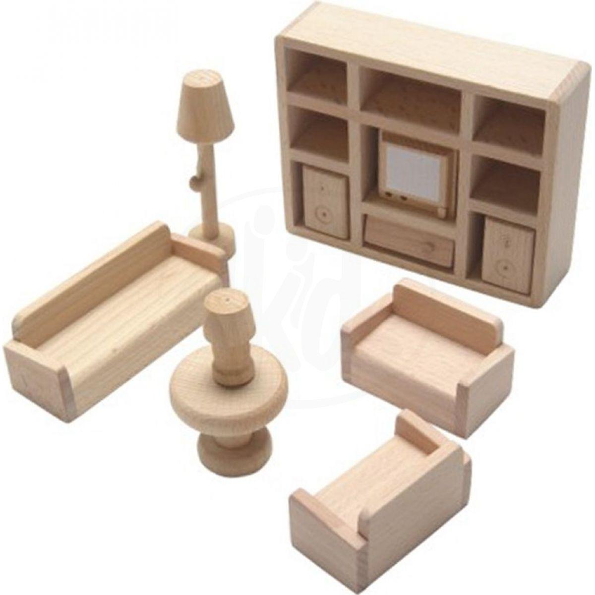 Alltoys Mini nábytek obývací pokoj