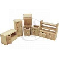 HM Studio Studo Wood Mini nábytek Kuchyně