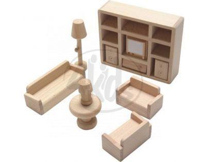 HM Studio Studo Wood Mini nábytek Obývák