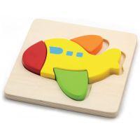 HM Studio Studo Wood Puzzle Letadlo
