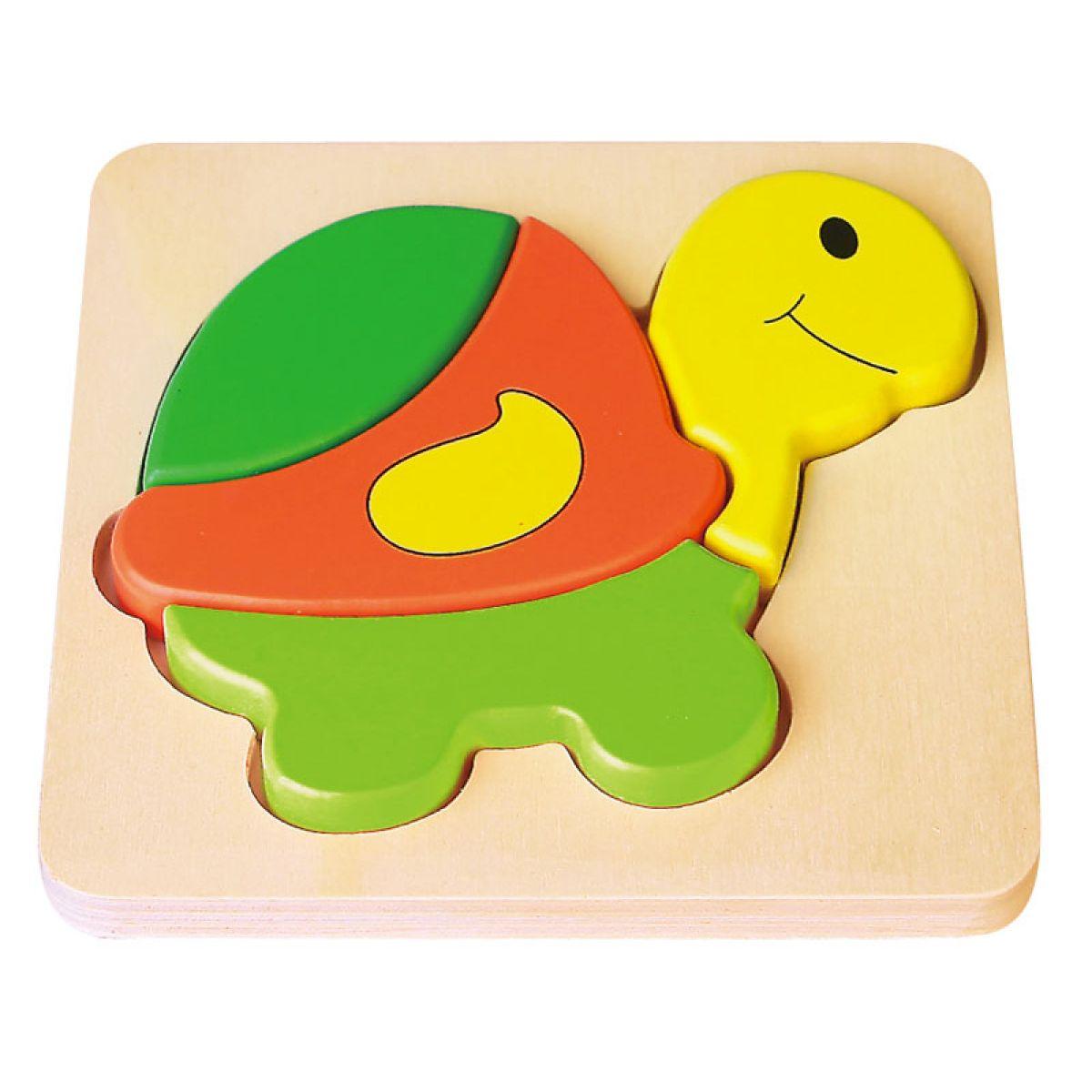 HM Studio Studo Wood Puzzle Želva