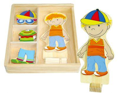 HM Studio Studo Wood Šatní skříň chlapeček