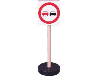 HM Studio Studo Wood Značka Zákaz předjíždění