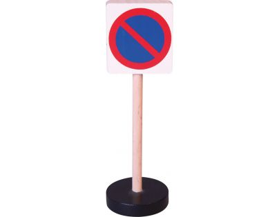 HM Studio Studo Wood Značka Zákaz stání