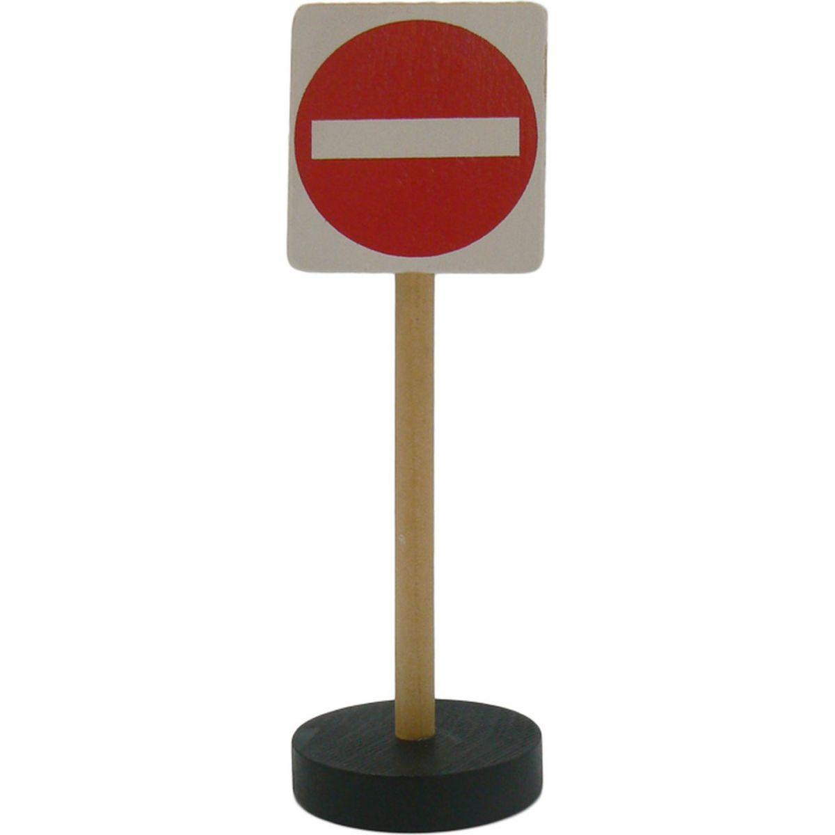 HM Studio Studo Wood Značka Zákaz všech  vjezdů