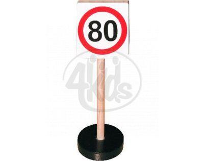 Studo Wood Značka Max rychlost 80 km/hod