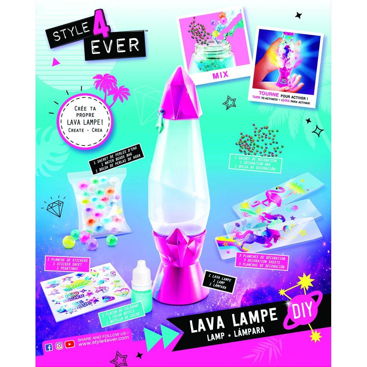 Style4Ever výroba lávové lampy