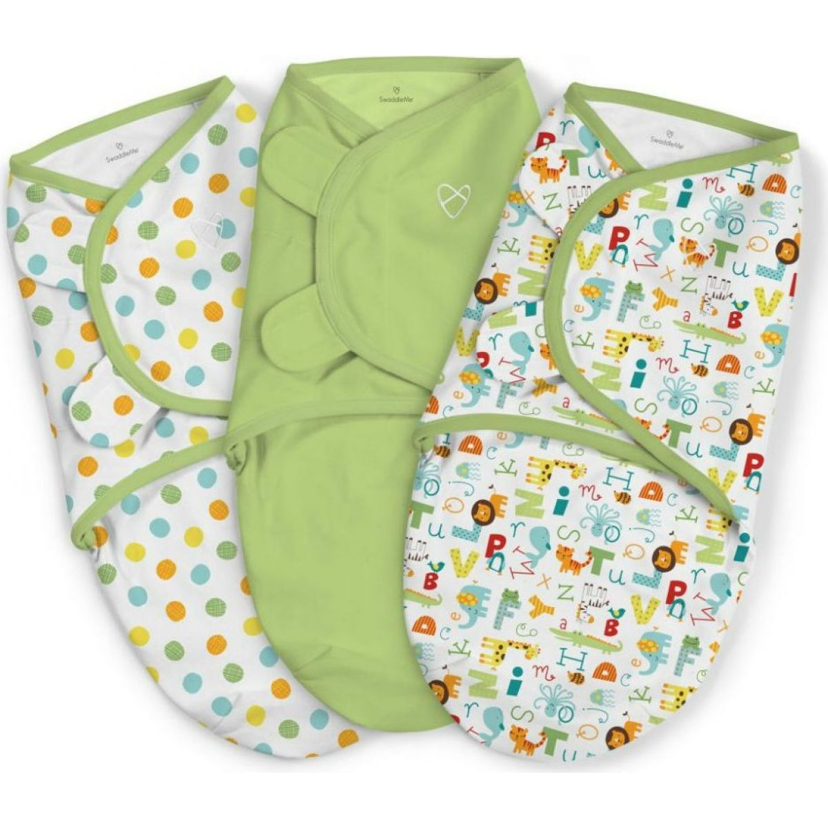 Summer Infant Zavinovačka SwaddleMe Abeceda sada 3ks
