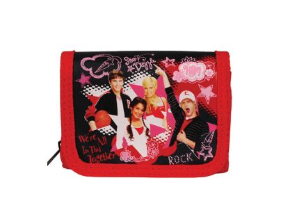 Sun Ce High School Musical Peněženka - červenočerná