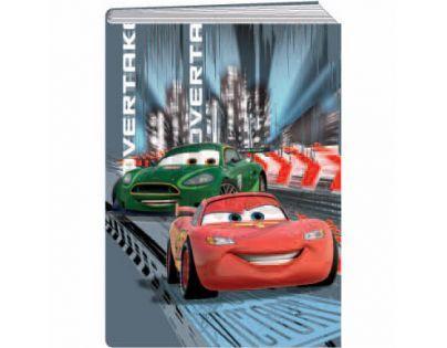 Sun Ce Disney Cars Školní sešit s obalem se 60 listy