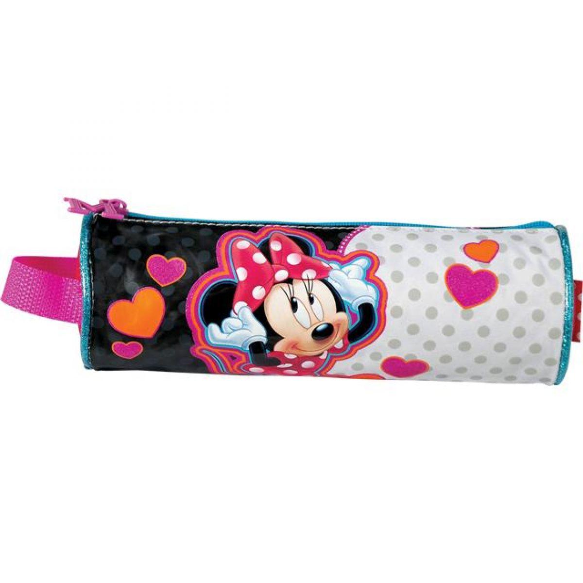 Sun Ce Disney Minnie Kulatý penál - srdce