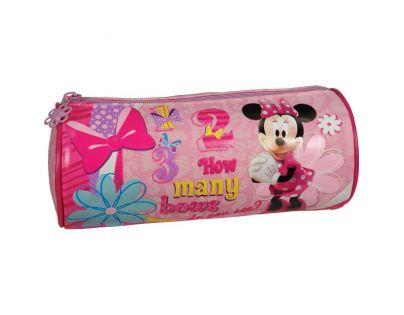 Sun Ce  Disney Minnie Kulatý penál - růžový