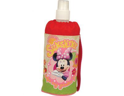 Sun Ce Disney Minnie Láhev v obalu - červený