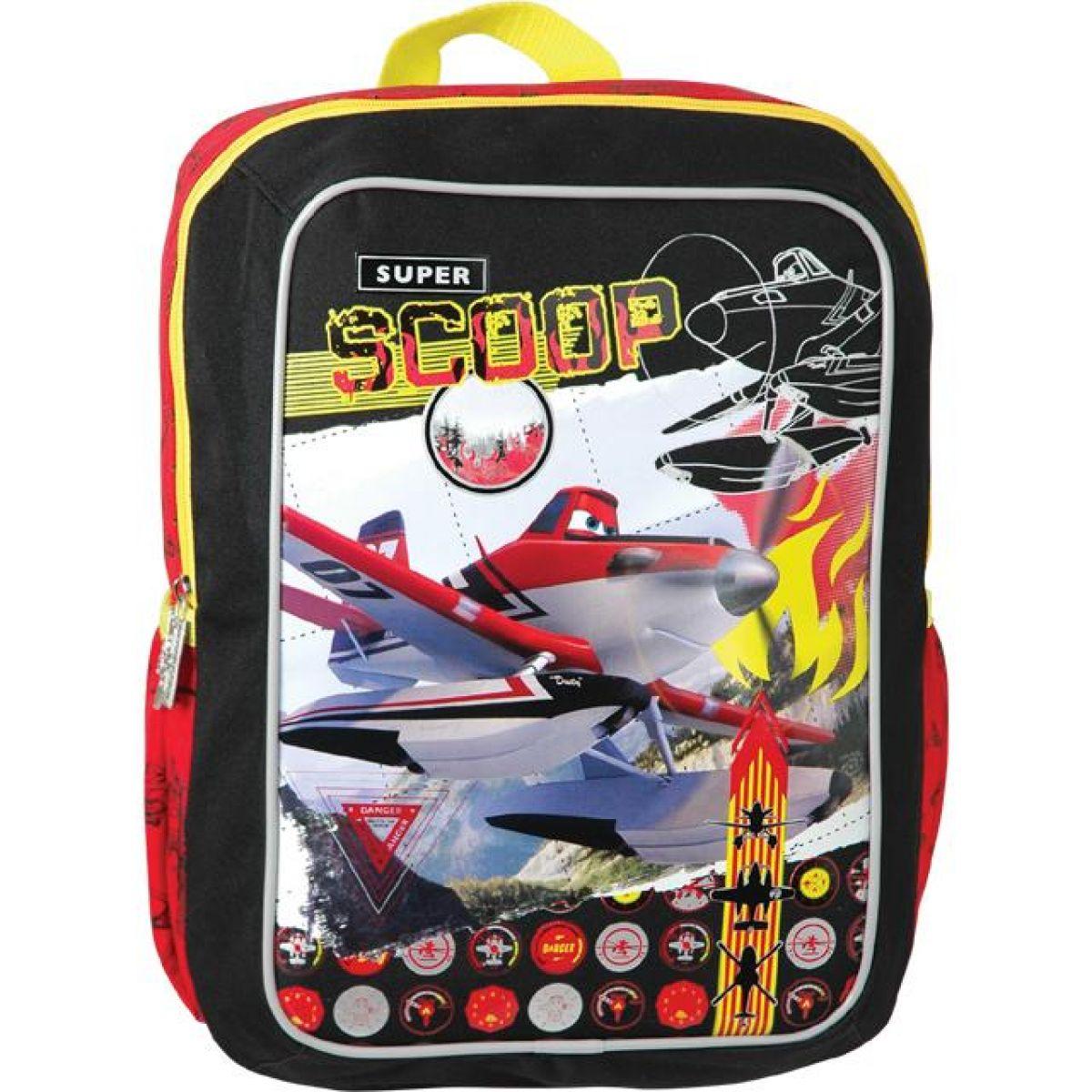 Sun Ce Disney Letadla Junior batoh hranatý