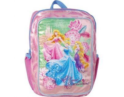 Sun Ce Disney Princezny Junior batoh hranatý - Locika, Růženka, Popelka