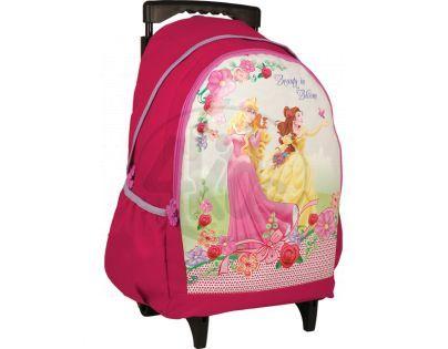 Sun Ce Disney princezny Batoh na kolečkách  - Růženka a Bella