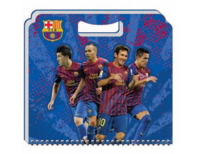 Sun Ce FC Barcelona Skicák menší (15 listů)