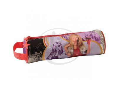 Sun Ce Hannah Montana Kulatý penál - černý