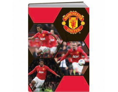 Sun Ce Manchester United Školní sešit s obalem se 60 listy
