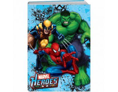Sun Ce Marvel Heroes Školní sešit s obalem