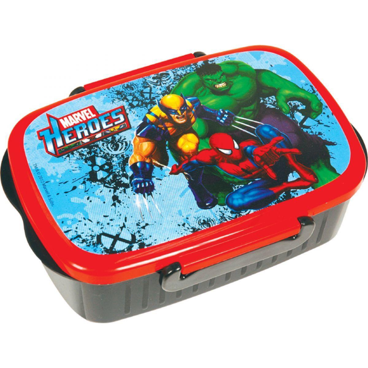 Sun Ce Marvel Heroes Box na svačinu  d2335afacd