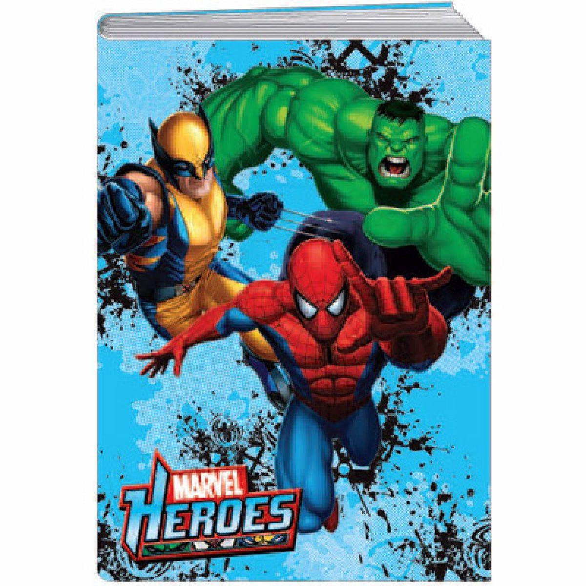 Sun Ce Marvel Heroes Školní sešit s obalem se 60 listy  bfe2c59406