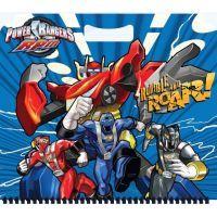 Sun Ce Skicák malý (15 listů) Power Rangers