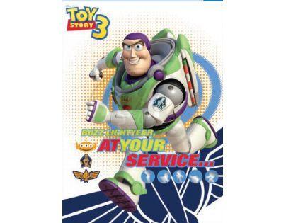 Sun Ce Toy Story 3 Neprůhledný obal s linkovaným sešitem 60 listů